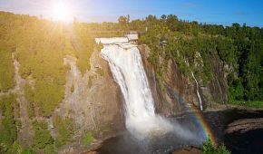 Montmorencyho vodopády
