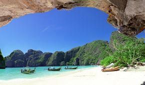 Laguna na ostrově Phi Phi