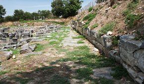 Prastará dopravní tepna Egnatia v Soluni