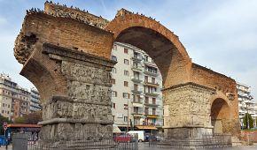 Vítězný oblouk císaře Galeria v Soluni