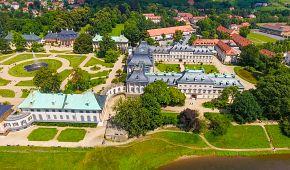 Pohled na zámek Pillnitz