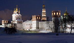 Zimní kouzlo Novoděvičího kláštera