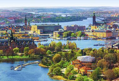 To nejlepší ze Stockholmu (letecky z Prahy)