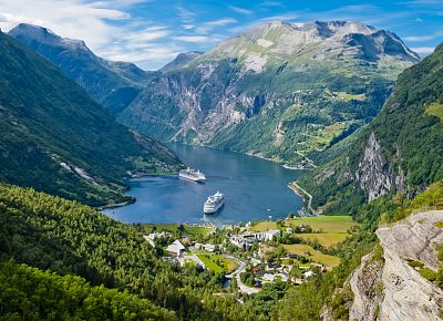 To nejlepší ze západního Norska + OSLO