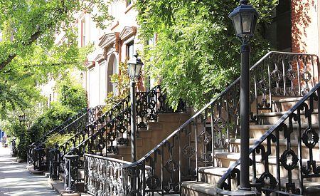 Čtvrť umělců Greenwich Village