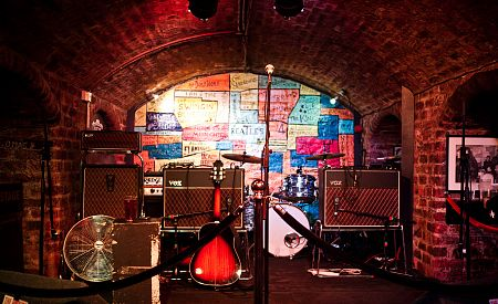 Slavný The Cavern Club v Liverpoolu