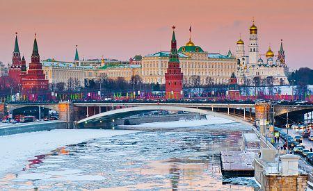 Zimní atmosféra v samém srdci Ruska, Kremlu