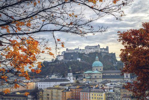 Adventní Salzburg + KRÁSY JIŽNÍCH ČECH <small>(autobusem z Ostravy)</small>
