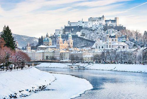 Adventní Salzburg <small>(autobusem z Prahy)</small>