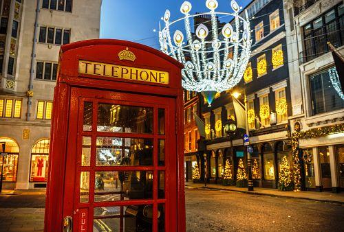 Adventní Londýn + WINTER WONDERLAND