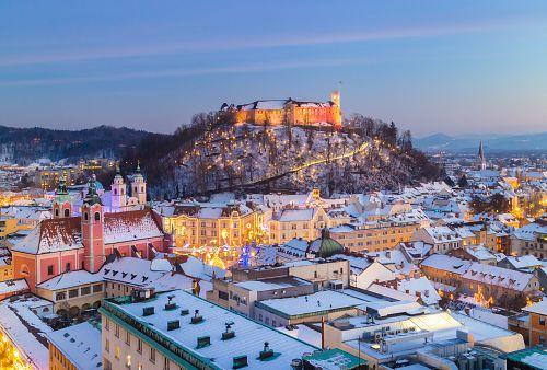 Adventní Lublaň + WELLNESS (autobusem z Prahy)