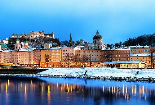 Adventní Salzburg + PRŮVOD ČERTŮ VE SCHLADMINGU <small>(autobusem z Ostravy)</small>