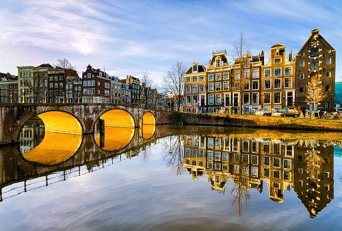 To nejlepší z Amsterdamu + DELFT + HAAG (letecky z Prahy)
