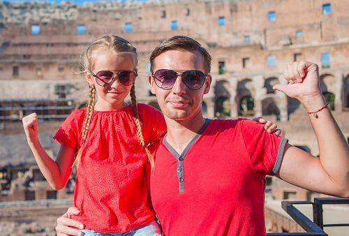 Řím pro rodiče a děti + KOUPÁNÍ V MOŘI