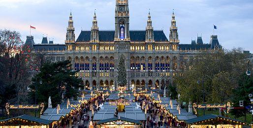 Adventní zájezdy do Vídně z Brna
