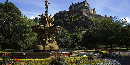 Edinburgh letecky