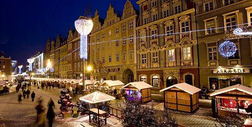 Adventní Wroclaw autobusem z Prahy