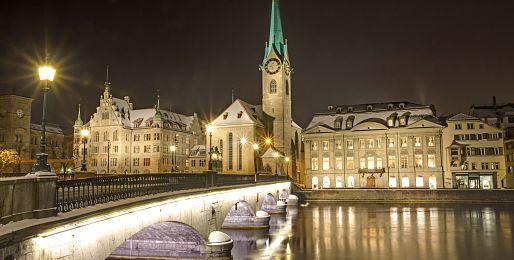 Poznávací zájezdy do Curychu