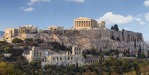 Řecko letecky