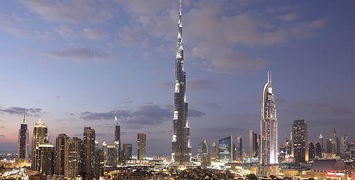 Silvestr v Dubaji