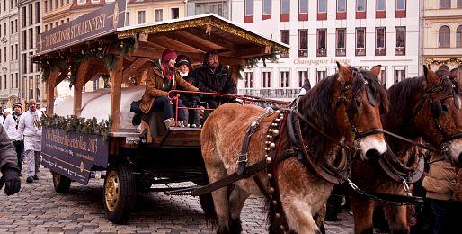Adventní Drážďany z Brna
