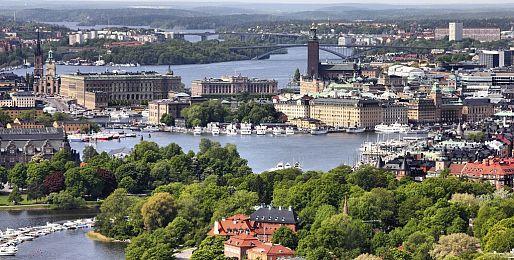 Švédsko autobusem