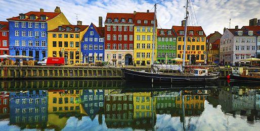 Kodaň letecky