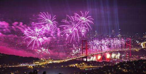 Silvestr v Istanbulu letecky