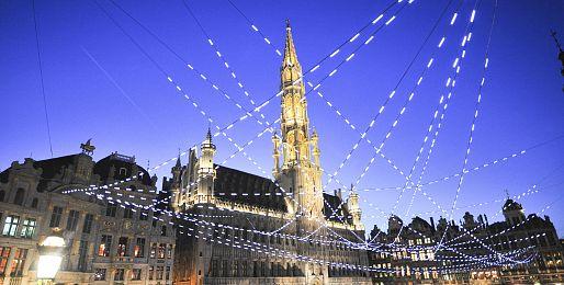 Advetní zájezdy do Belgie