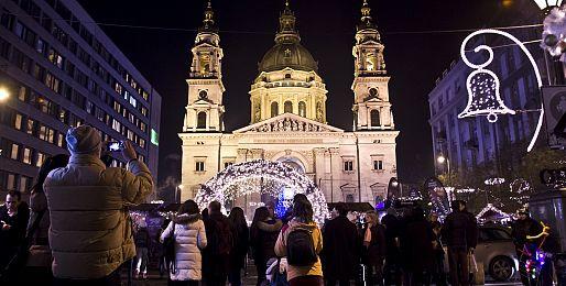 Adventní Budapešť autobusem z Prahy