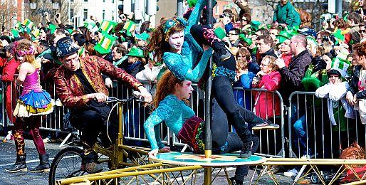Zájezdy na oslavy sv. Patrika do Irska