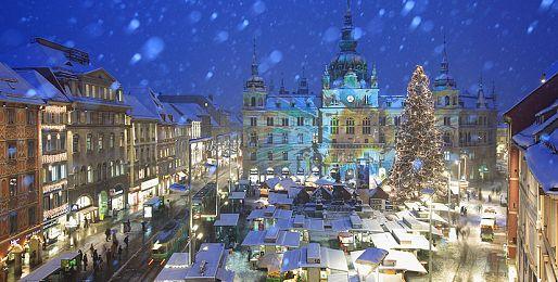 Adventní zájezdy do Grazu z Brna