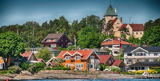 Oslo letecky
