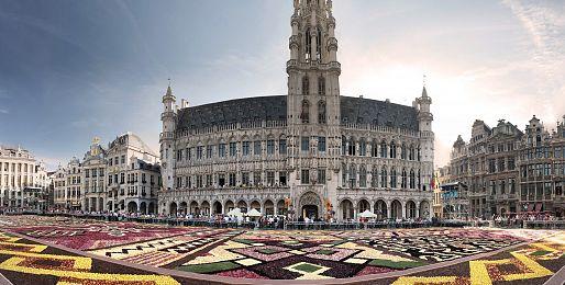 Květinové zájezdy do Belgie