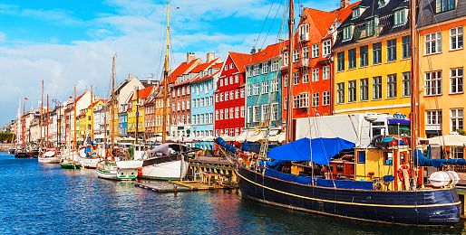 Dánsko letadlem a autobusem