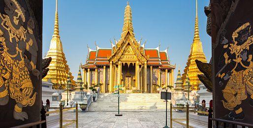 Thajsko letecky z Vídně