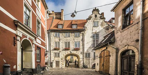Riga letecky z Prahy