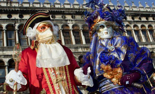 Karneval v Benátkách 2013 s ubytováním (autobusem z Ostravy, Brna)