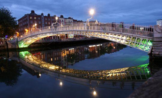 To nejlepší z Dublinu + GLENDALOUGH + POWERSCOURT (letecky z Bratislavy)