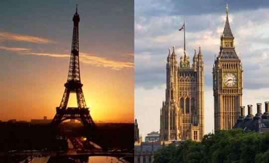 To nejlepší z Londýna + PAŘÍŽ (letecky z Bratislavy)