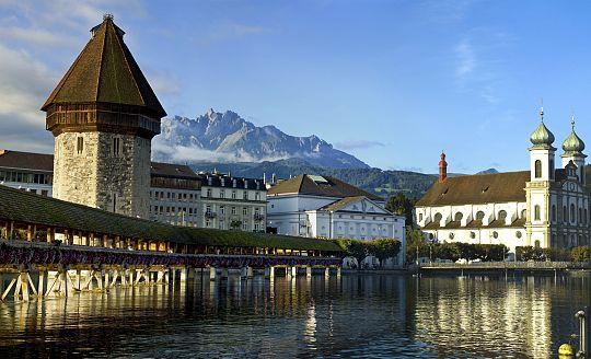 To nejlepší z Curychu, Bernu, Luzernu a švýcarské přírody (letecky z Prahy)