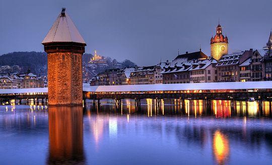 Adventní Curych, Bern, Luzern a švýcarská příroda (letecky z Prahy)