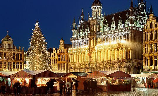 Adventní Brusel, Bruggy, Gent a Antverpy (letecky z Ostravy - Katovic)