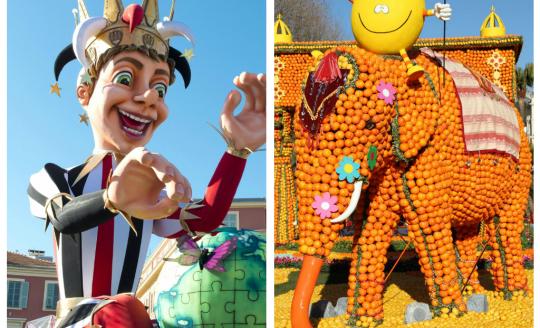 Karneval v Nice + FESTIVAL CITRUSŮ V MENTONU (autobusem)
