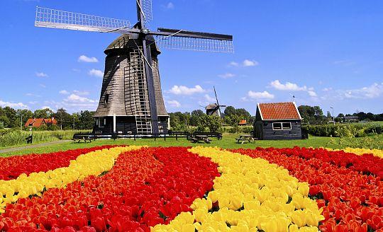 To nejlepší z Holandska + SLAVNOSTI GONDOL (autobusem)