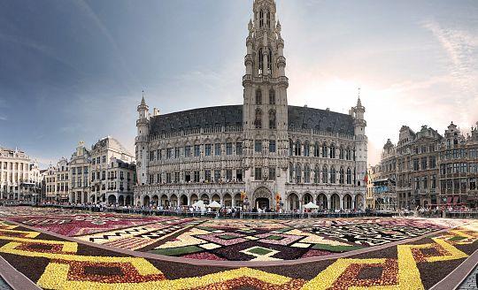 To nejlepší z Belgie + KVĚTINOVÝ KOBEREC + WATERLOO (letecky z Prahy)