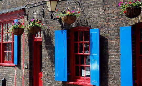Londýn po anglicku (letecky z Brna)