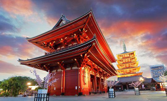 To nejlepší z Japonska + KVĚTINOVÝ FESTIVAL U HORY FUDŽI (letecky z Prahy)