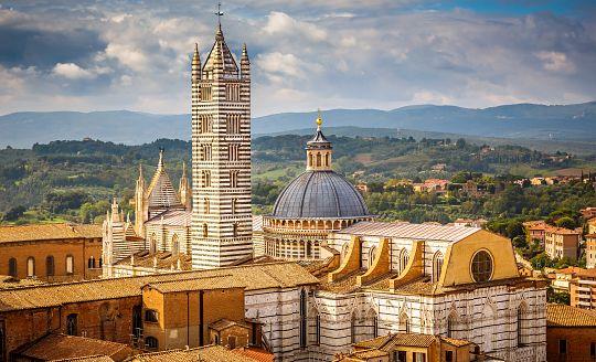 To nejlepší z Florencie + SIENA (letecky z Prahy)