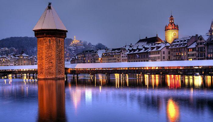 Adventní Curych, Bern, Luzern a švýcarská příroda